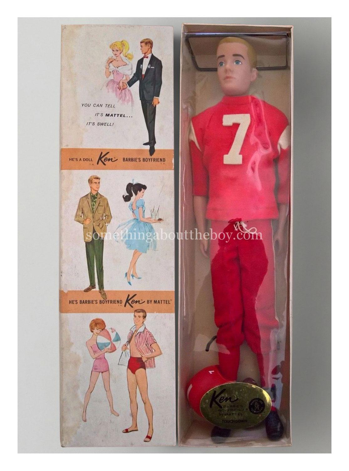 1963 799 Touchdown Dressed Doll Ken