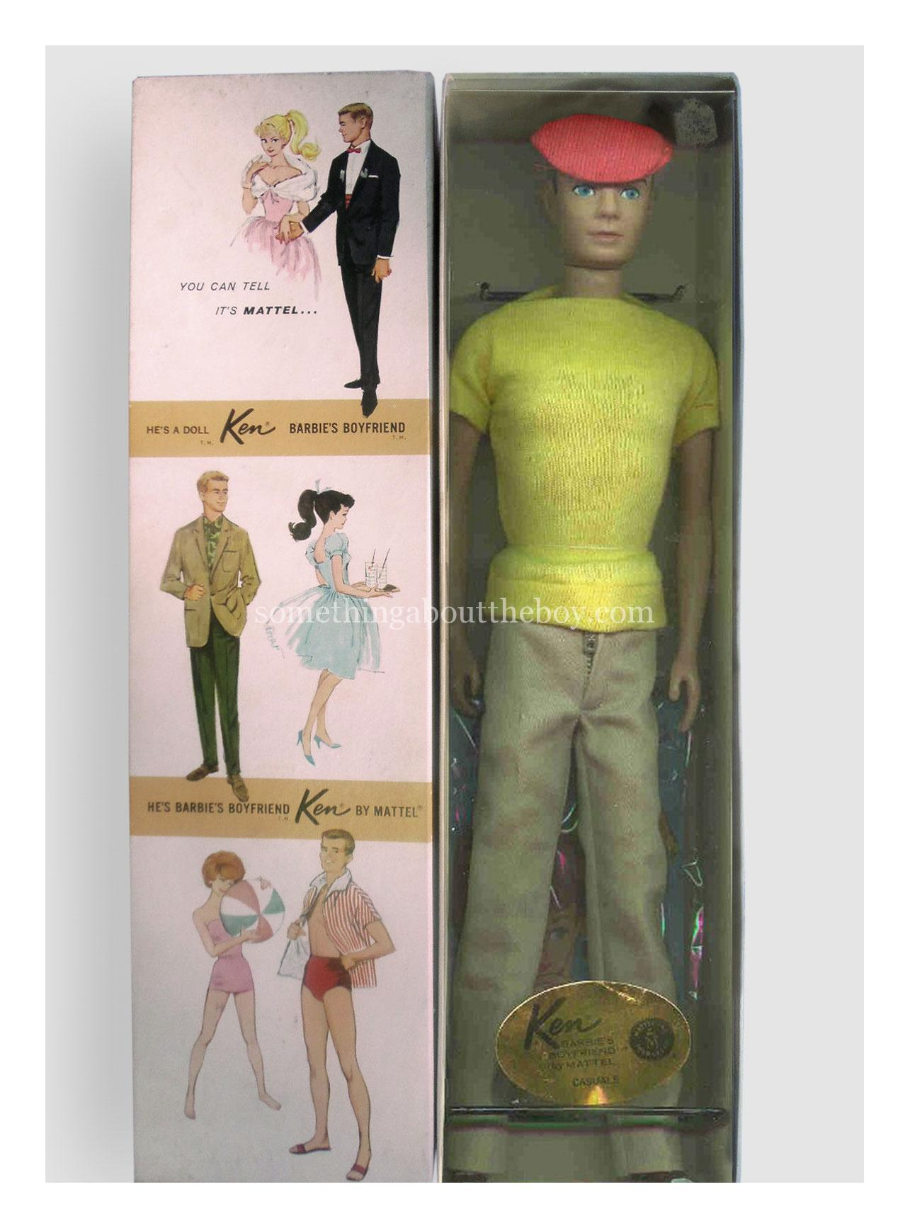 1963 #782 Casuals Dressed Doll Ken