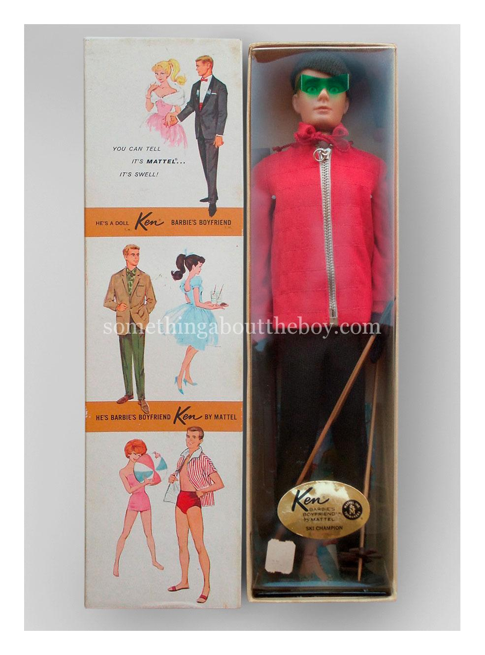 1963 #798 Ski Champion Dressed Doll Ken