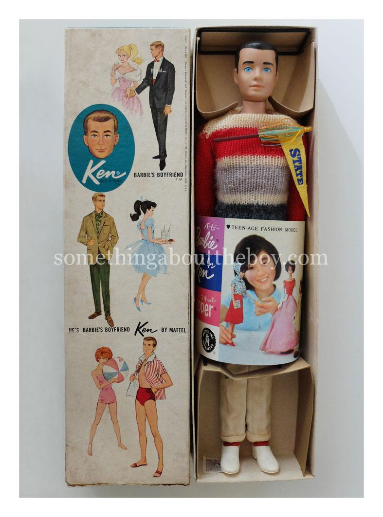 c. 1965 K770 Japan Dressed Doll Campus Hero Ken