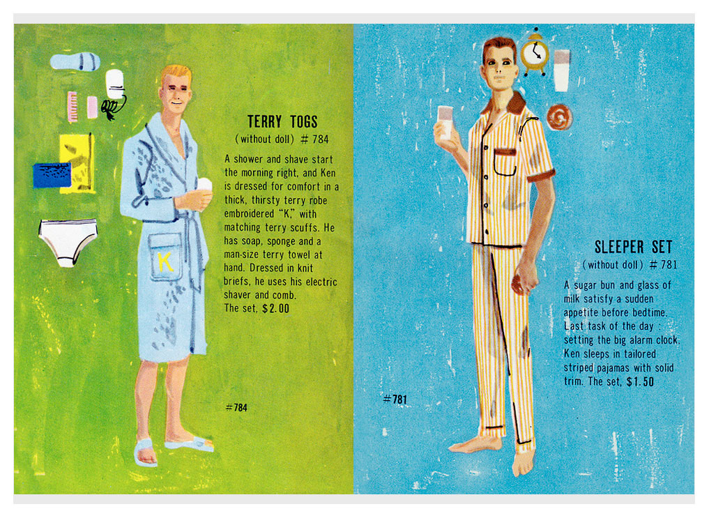 From 1961 Barbie & Ken booklet