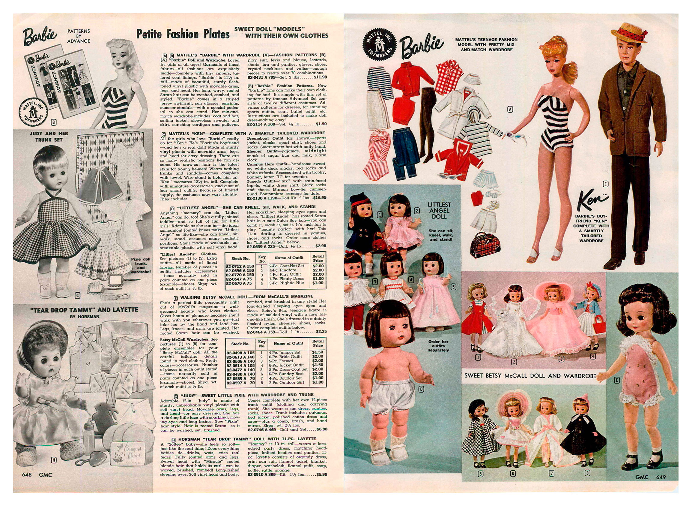From 1961 General Merchandise Company catalogue
