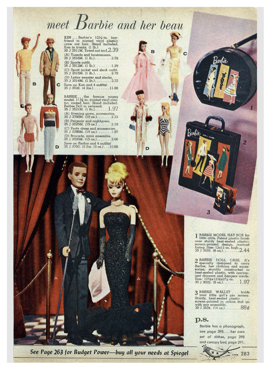 From 1961 Spiegel Christmas catalogue