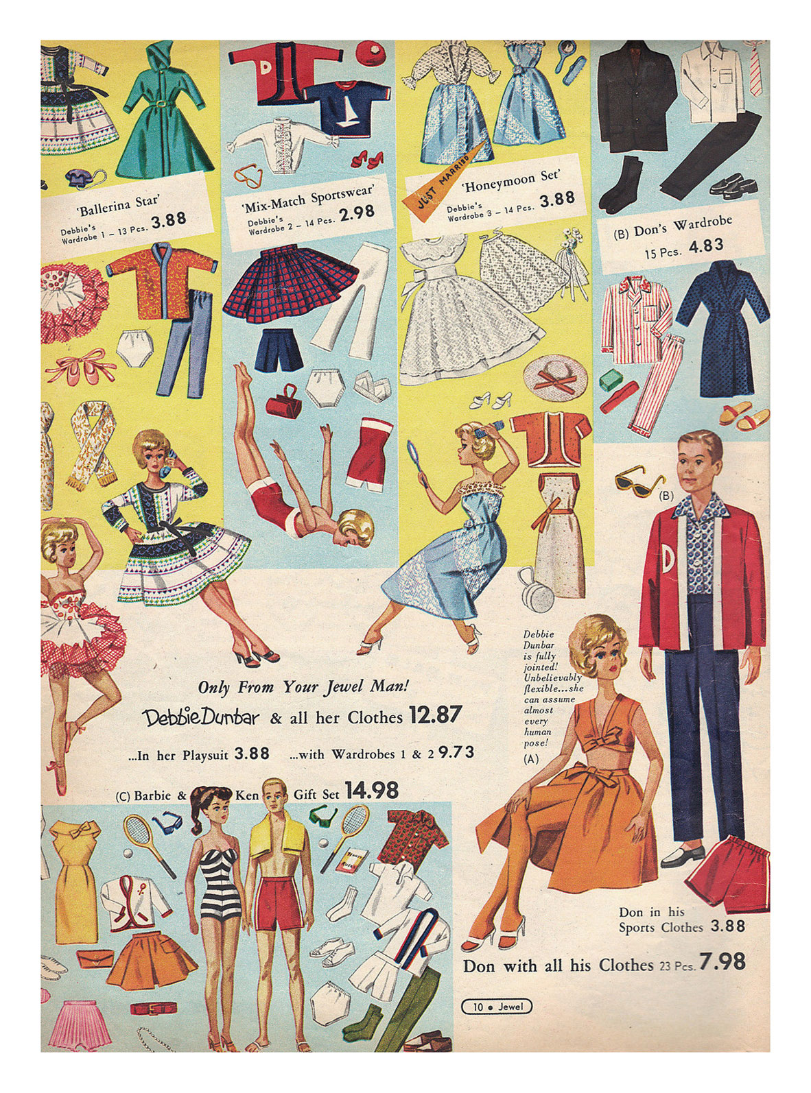 From 1962 Jewel Christmas catalogue