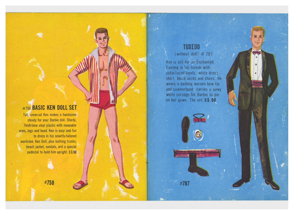 From 1962 Barbie & Ken booklet