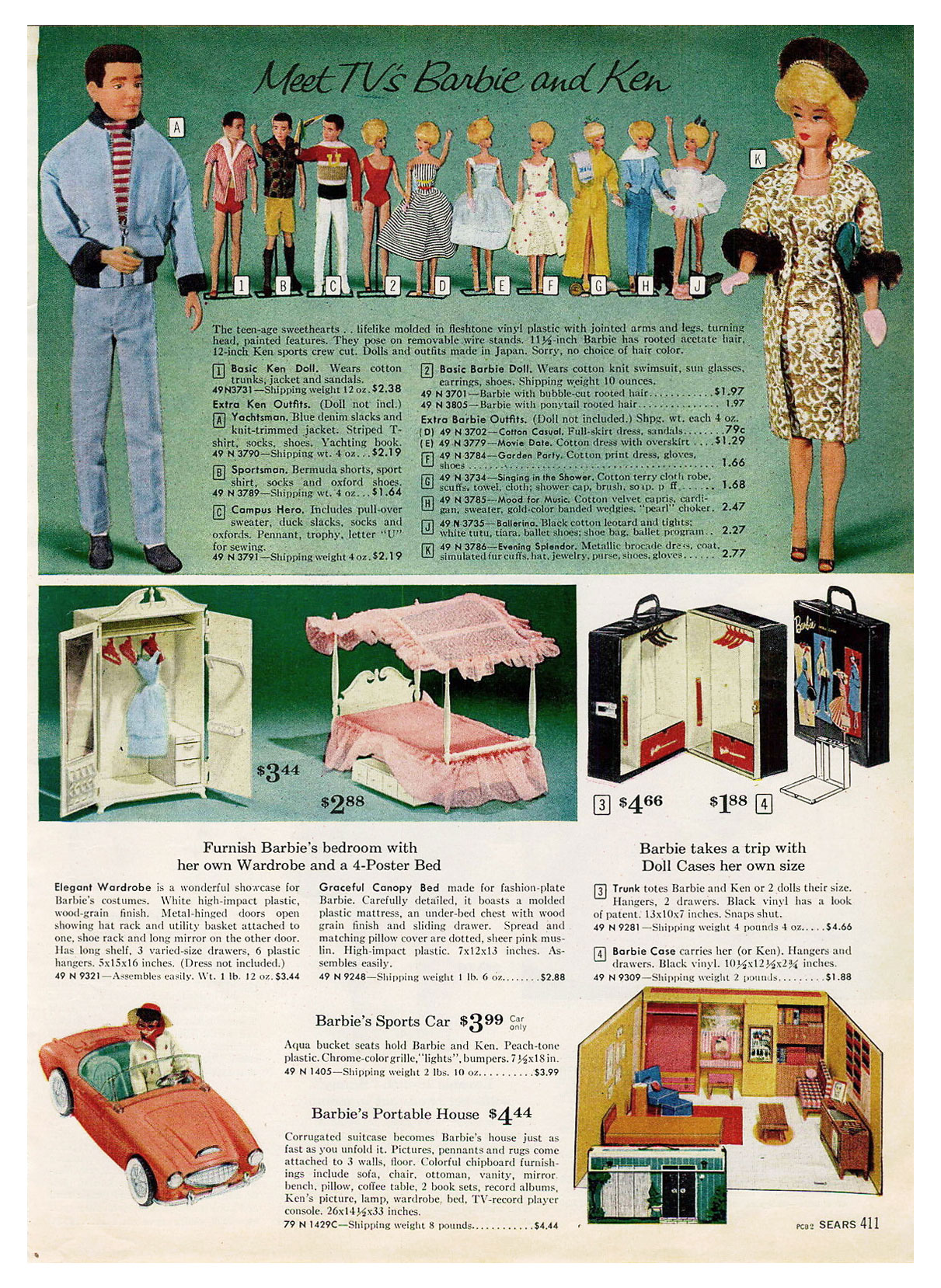 1962 Sears Christmas catalogue