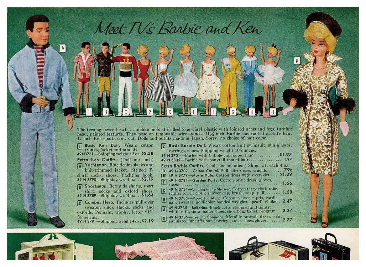 From 1962 Sears Christmas catalogue