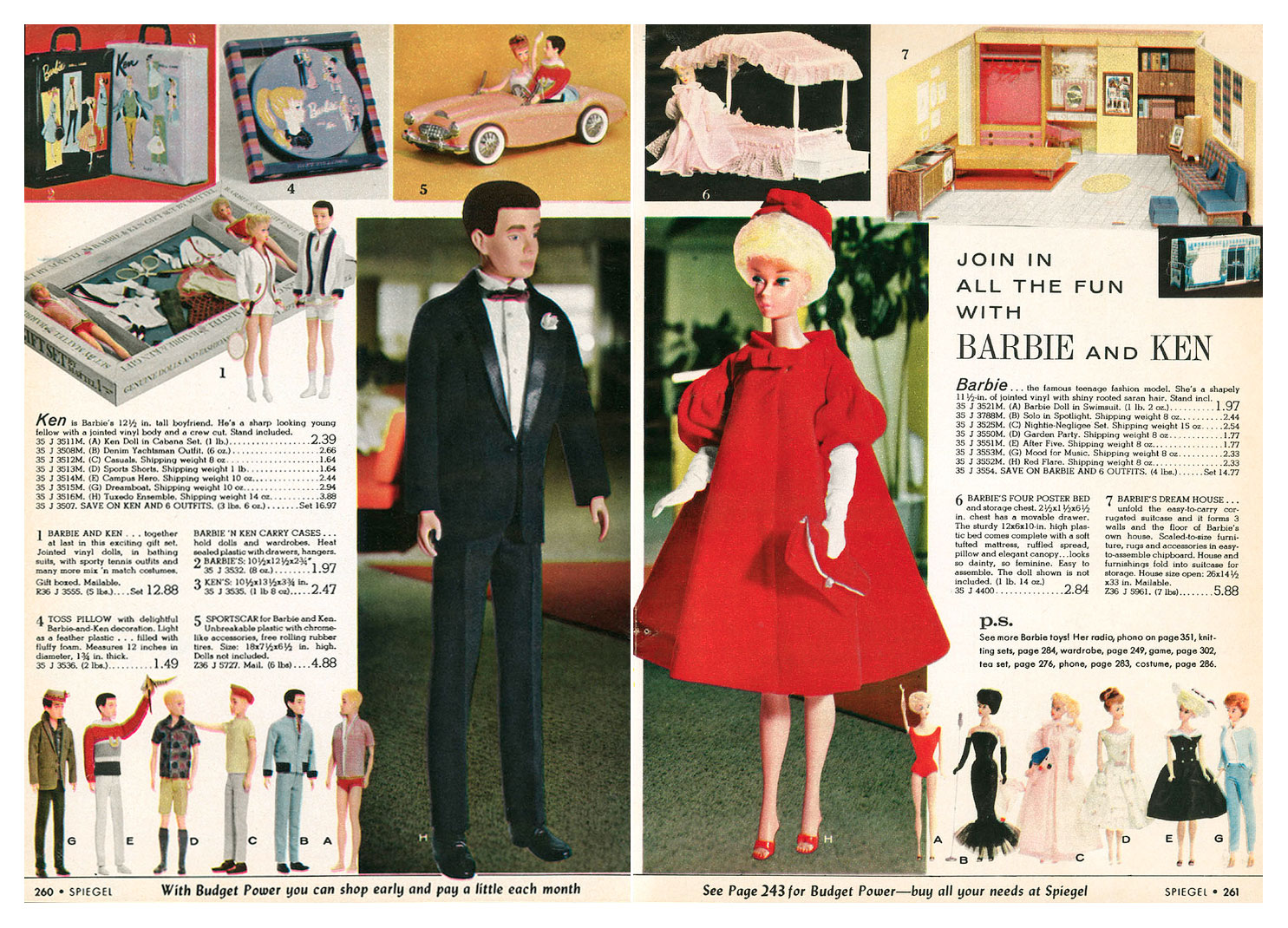 From 1962 Spiegel Christmas catalogue
