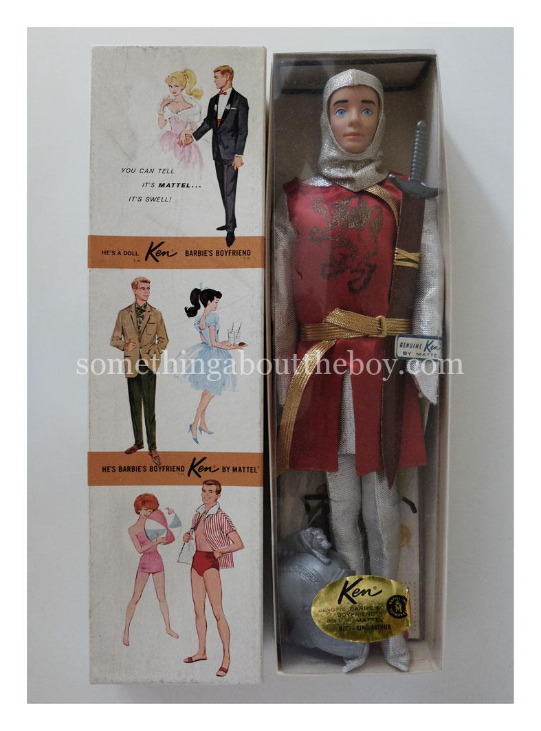 1964 #0773 King Arthur Dressed Doll Ken