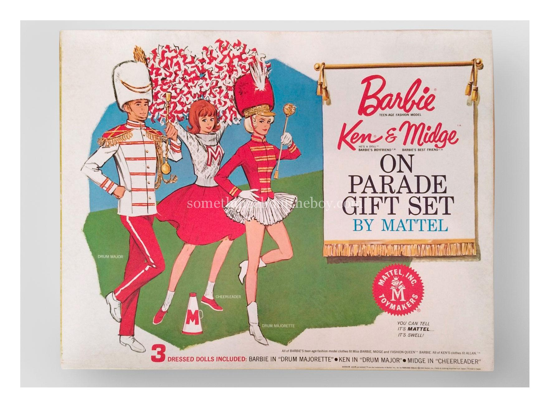 1964 #1014 Barbie Ken On Parade Gift Set
