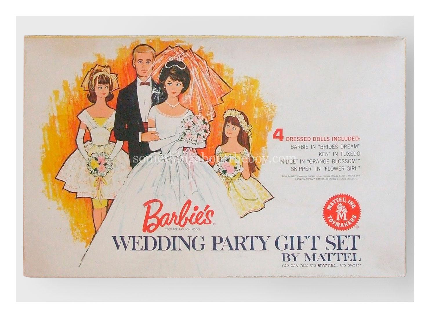 1964 #1017 Wedding Party Gift Set