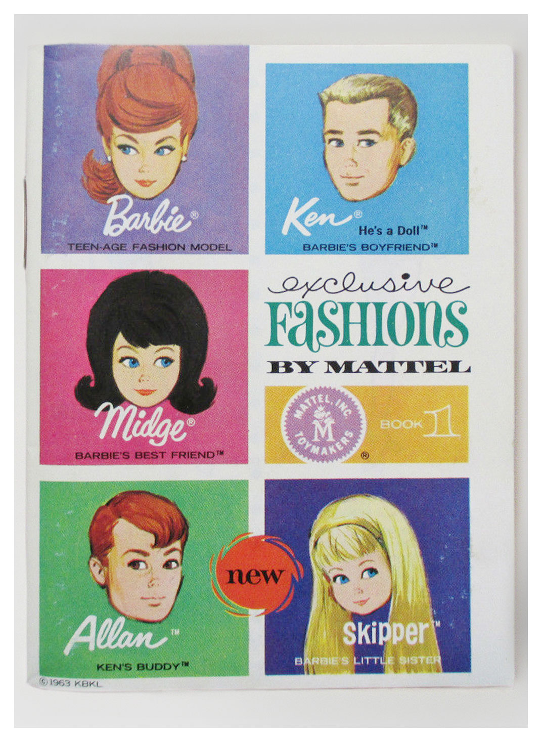 1964 Exclusive Fashions book 1
