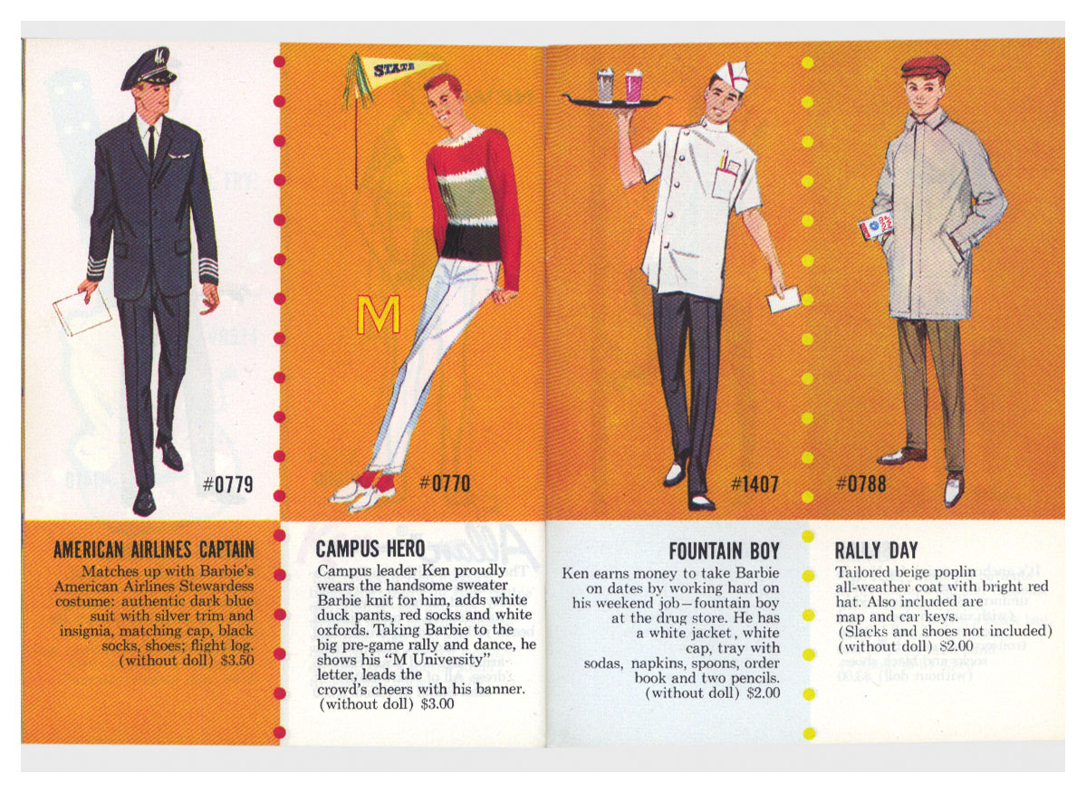From 1964 Exclusive Fashions book 1