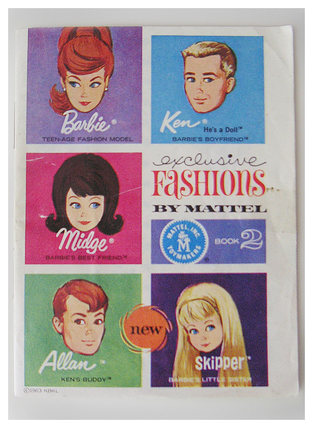 1964 Exclusive Fashions book 2
