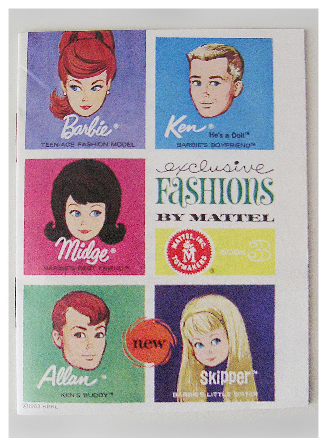 1964 Exclusive Fashions book 3