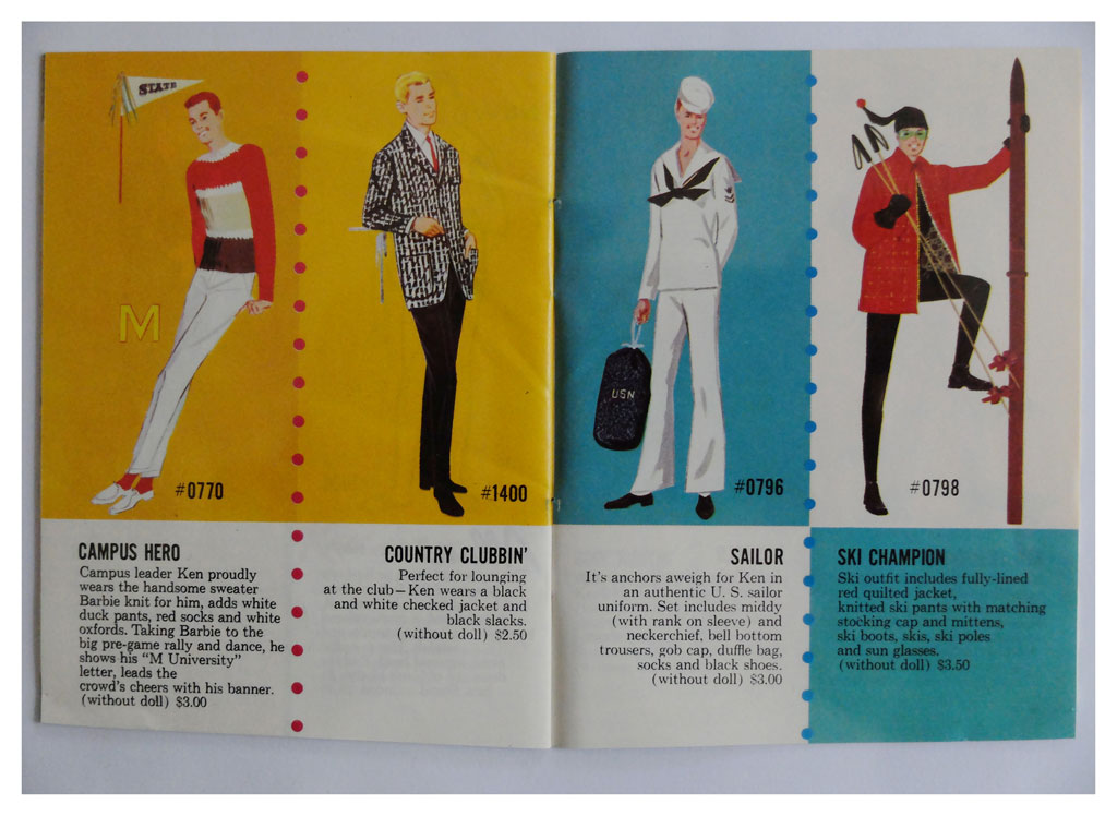 From 1964 Exclusive Fashions book 3