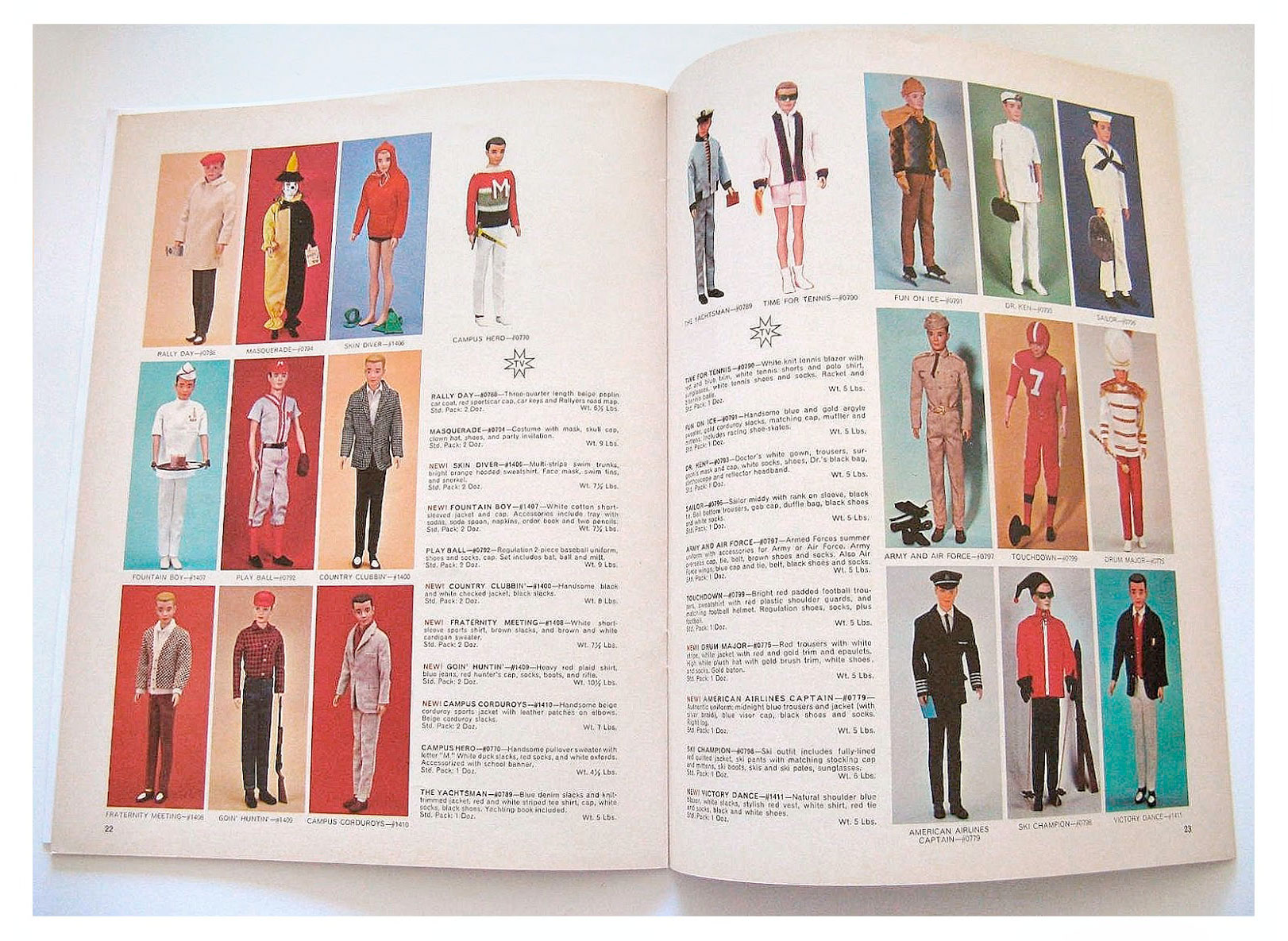 From Barbie For Fall '64 catalogue