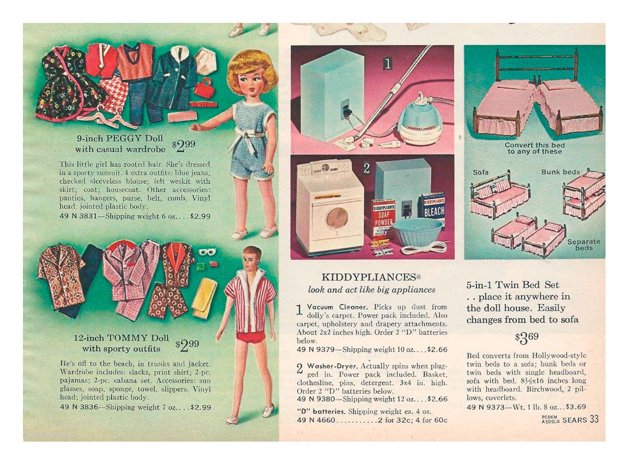 From 1964 Sears Christmas catalogue