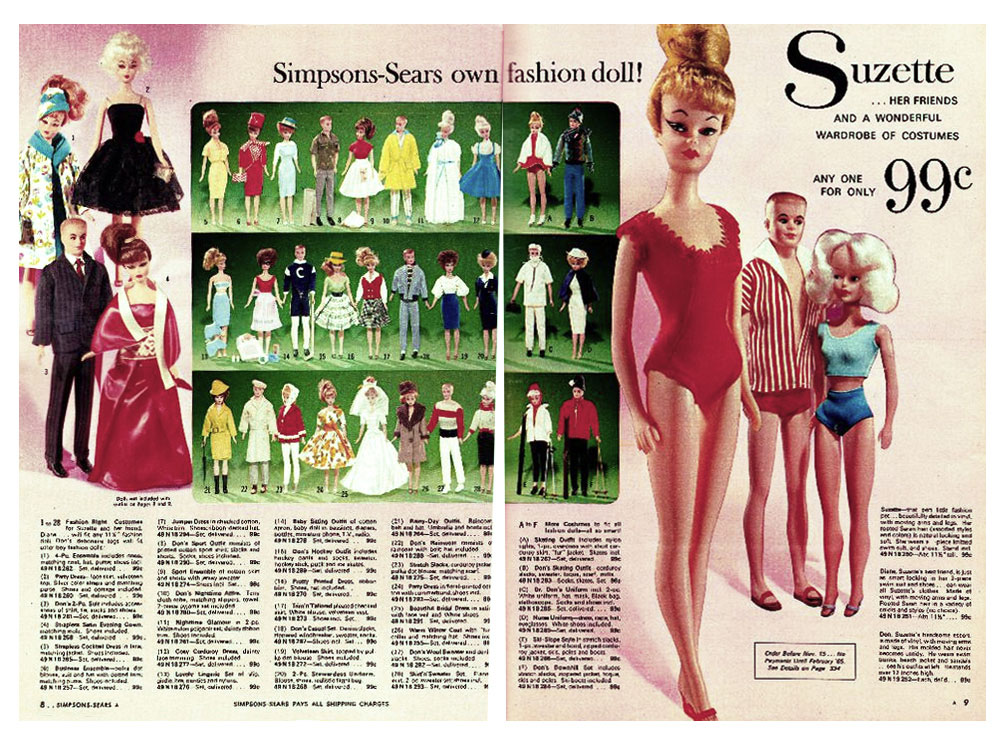 From 1964 Simpsons Sears Christmas catalogue
