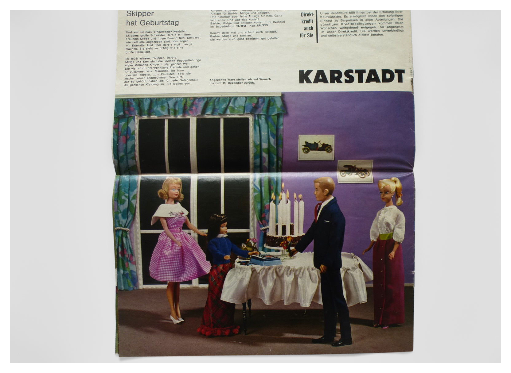 1965 German Karstadt toy catalogue