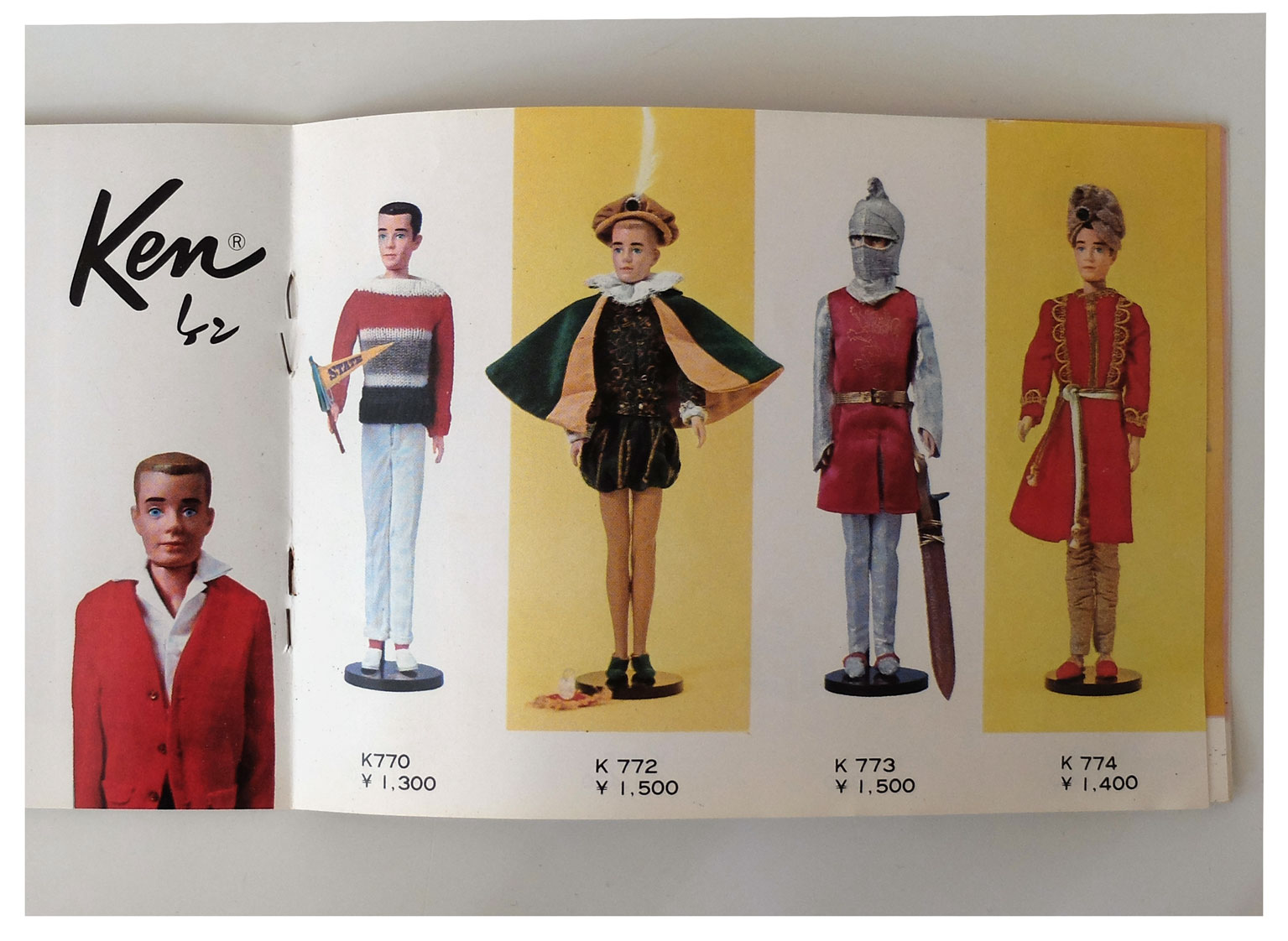 From 1965 Japanese Barbie booklet