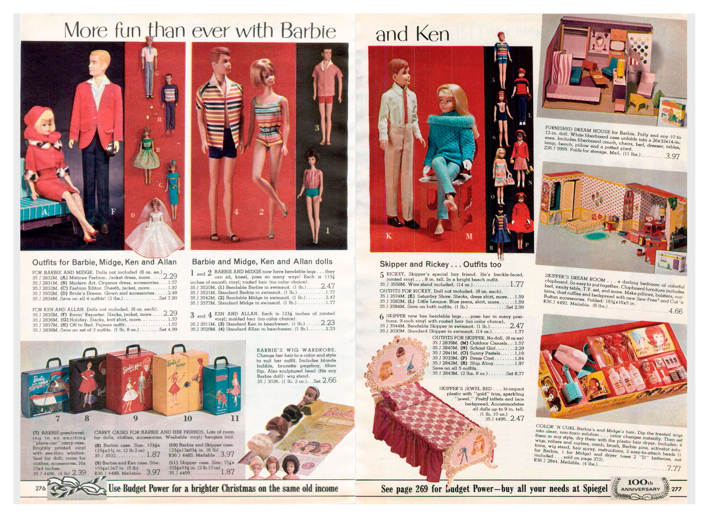 From 1965 Spiegel Christmas catalogue