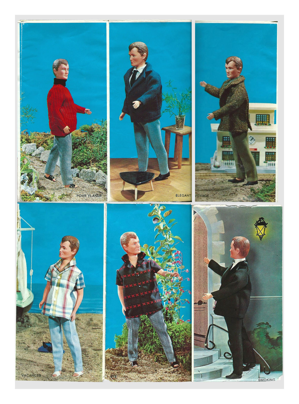From 1966 French Mily & Jacky brochure by GéGé