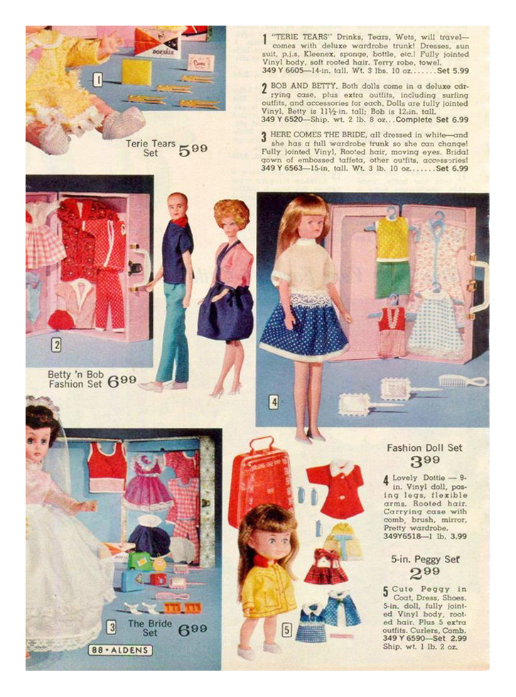 From 1967 Aldens Christmas catalogue