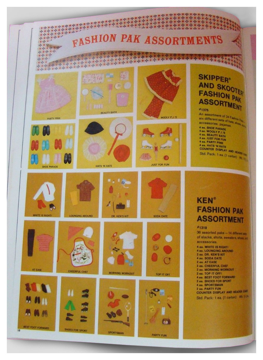 From 1967 Mattel Toys (black) catalogue