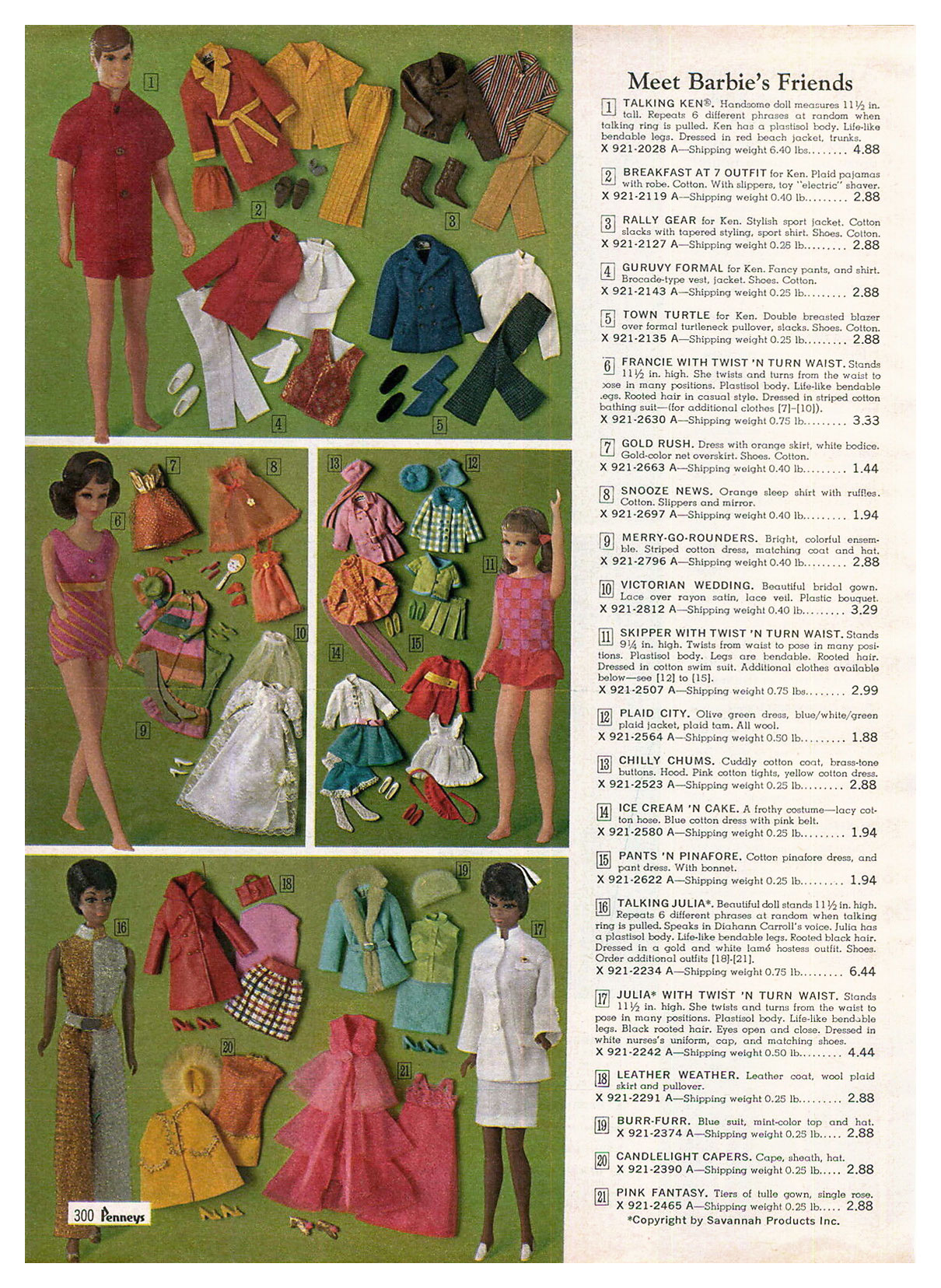 From 1969 JCPenney catalogue