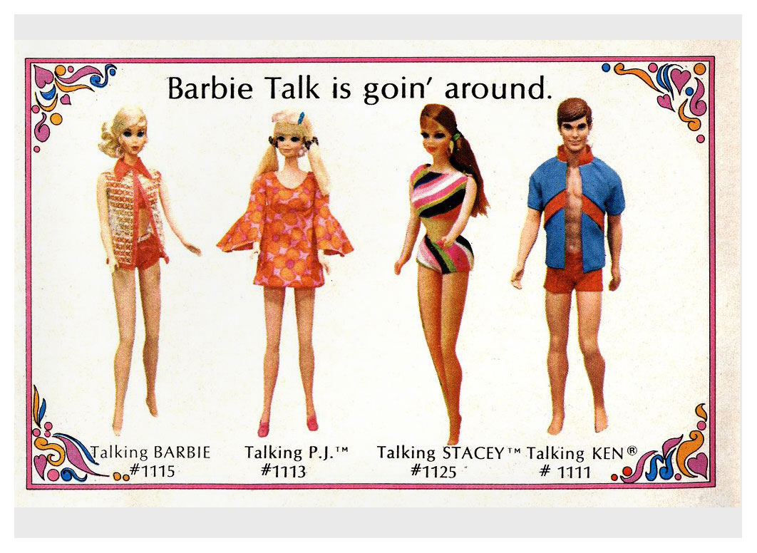 From 1969-70 Living Barbie booklet