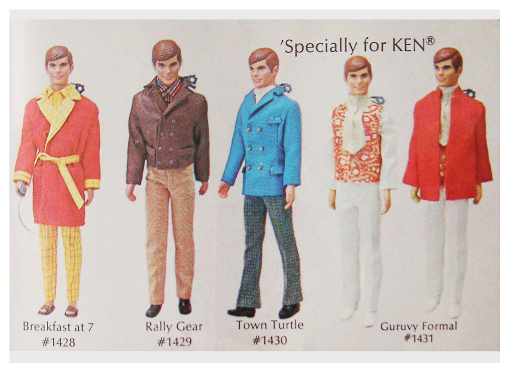 From 1970 Living Barbie booklet (I)