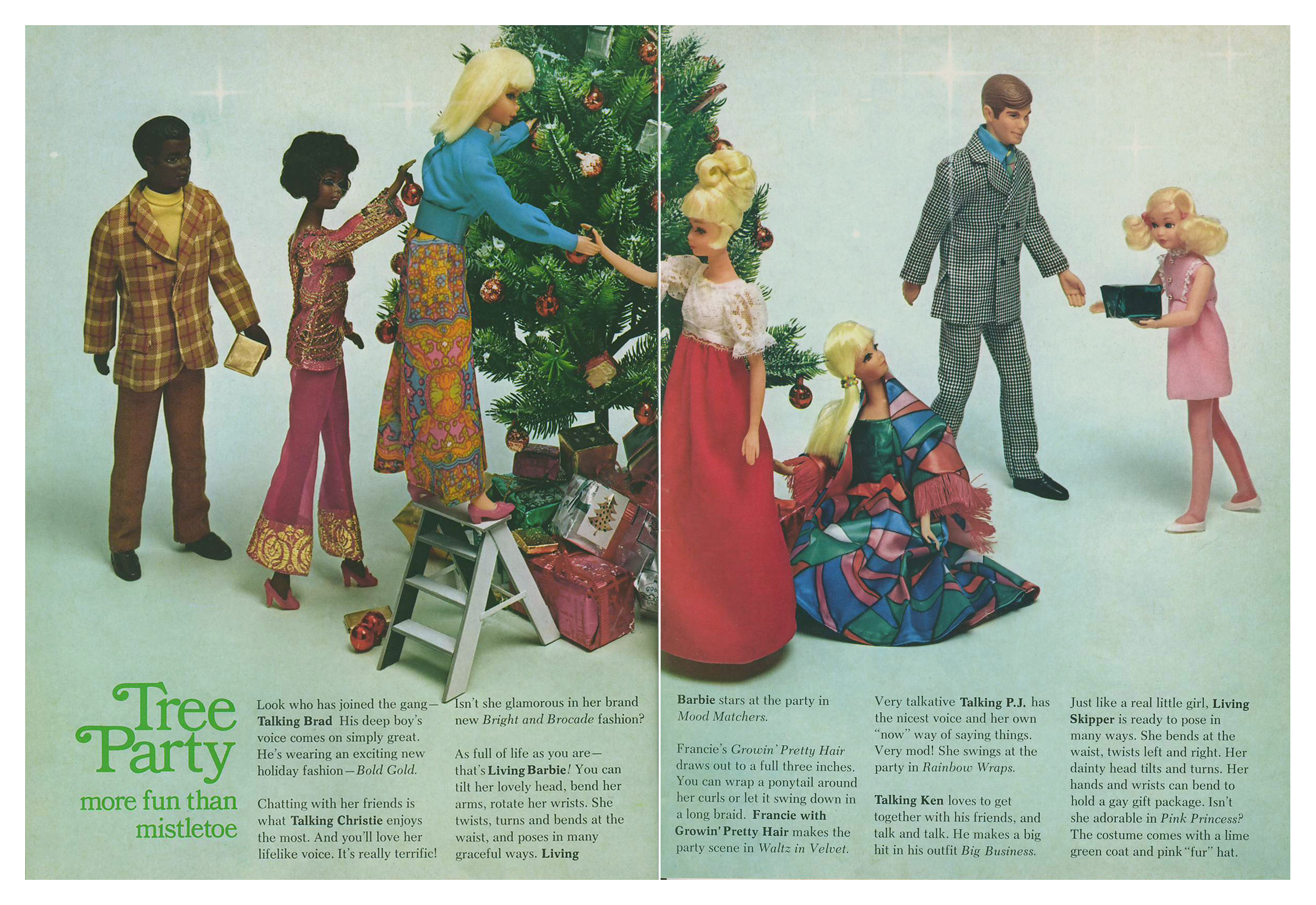 From 1970 Barbie Talk magazine