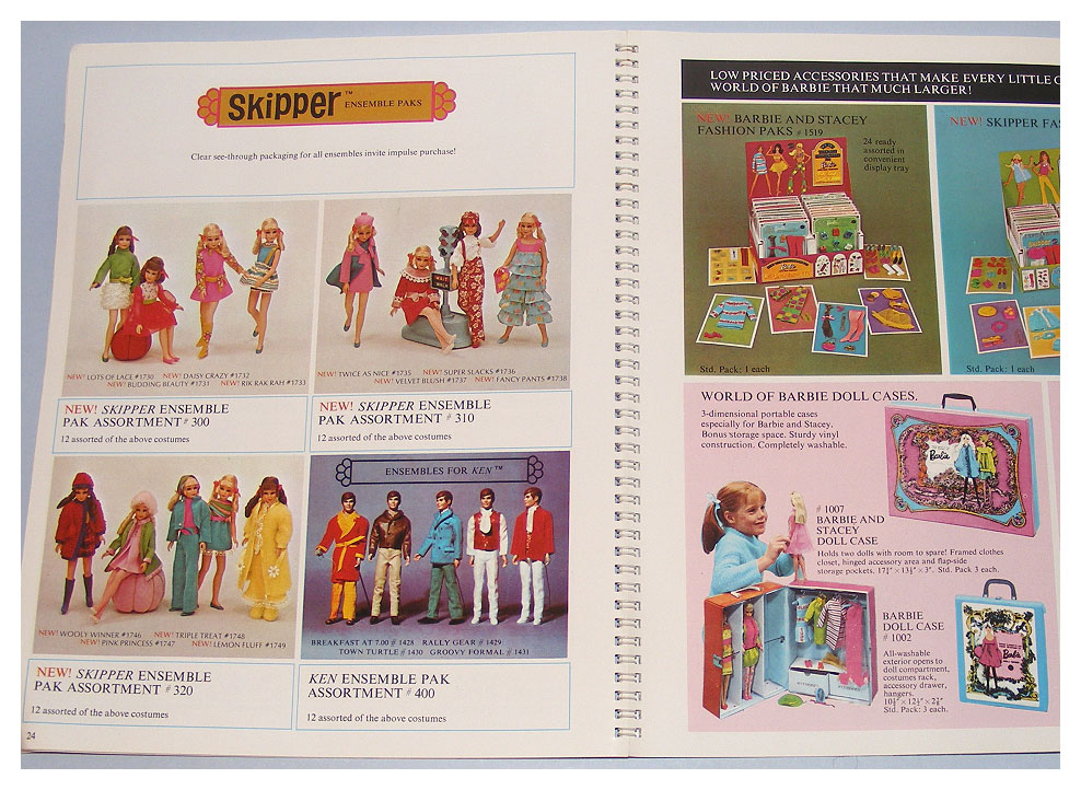 From 1970 British Mattel catalogue
