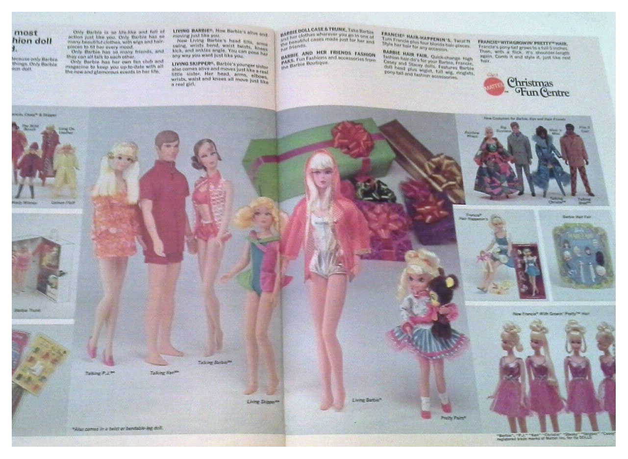 From 1970 Canadian Mattel Christmas Fun Book