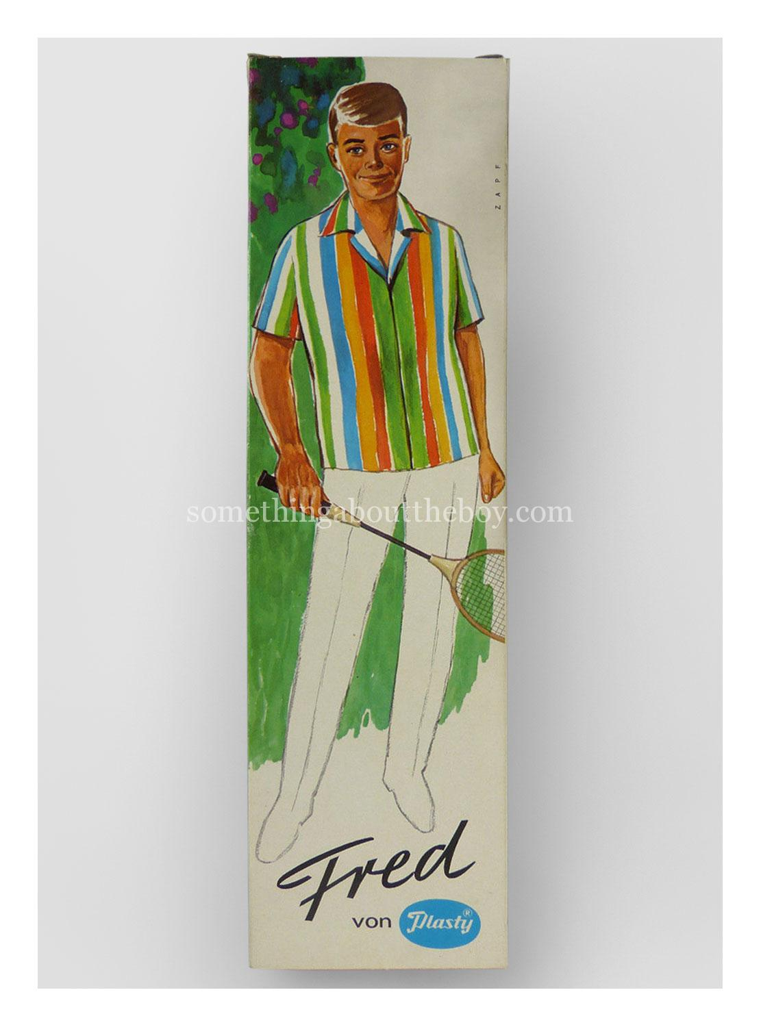 c.1970 Fred original packaging by Plasty