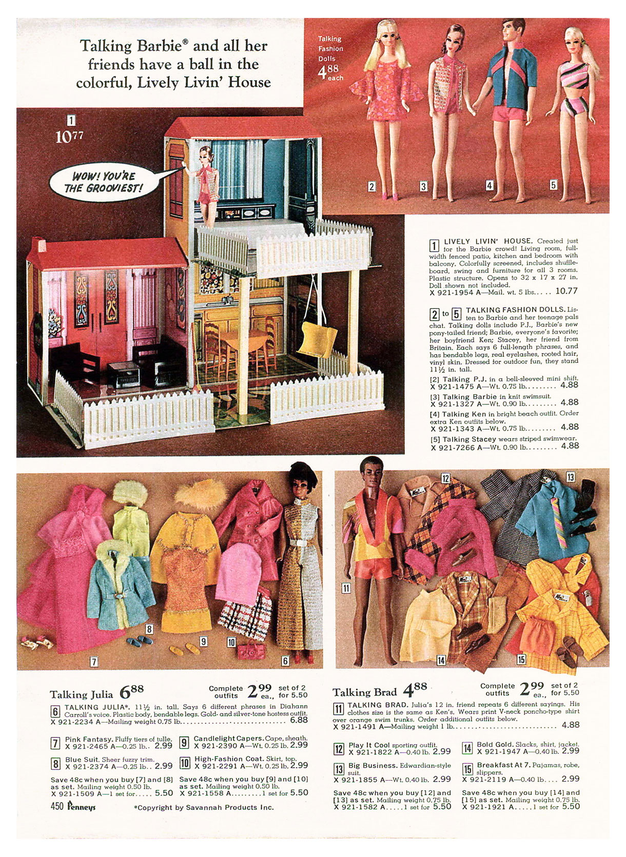 From 1970 JCPenney Christmas catalogue