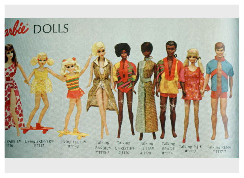 From 1971-72 The Lively World of Barbie booklet