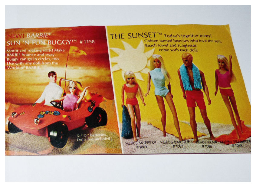 From 1971-72 Barbie booklet