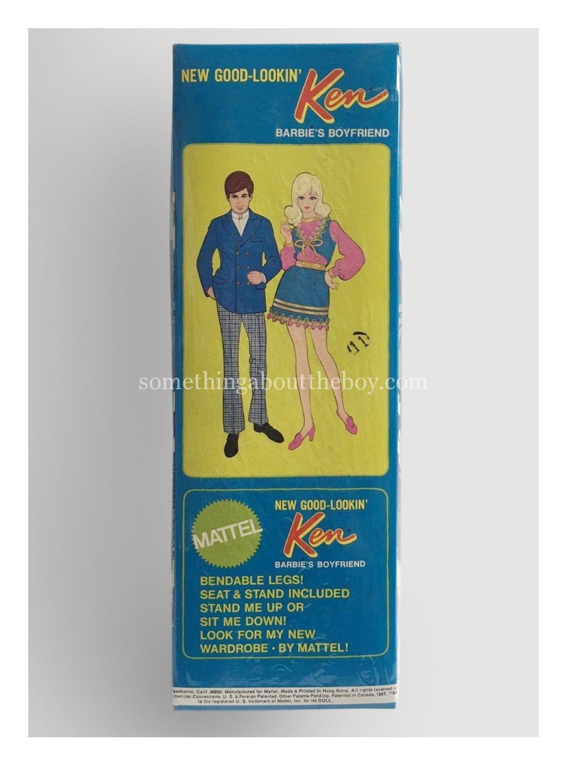 1971 #1124 New Good-Lookin' Ken original packaging