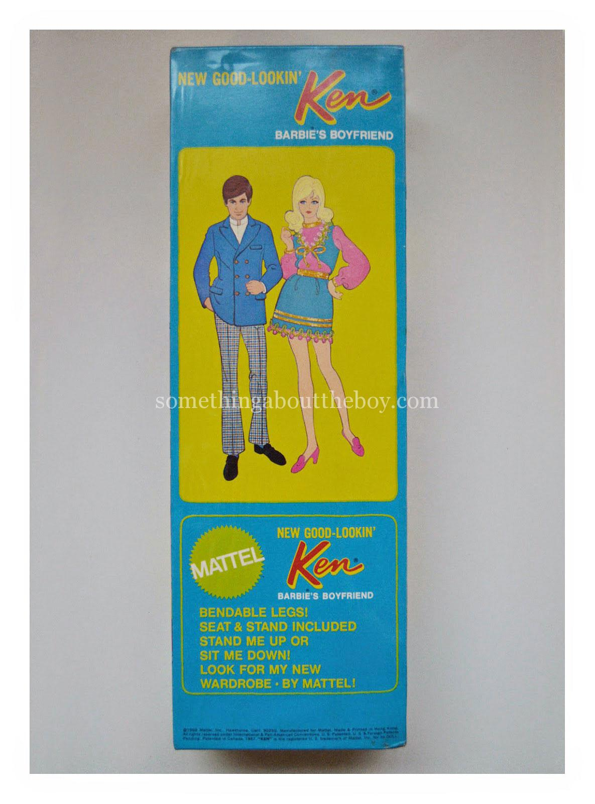 1971 #1124 New Good-Lookin' Ken in original packaging
