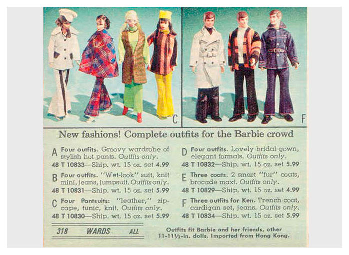 From 1971 Montgomery Ward Christmas catalogue