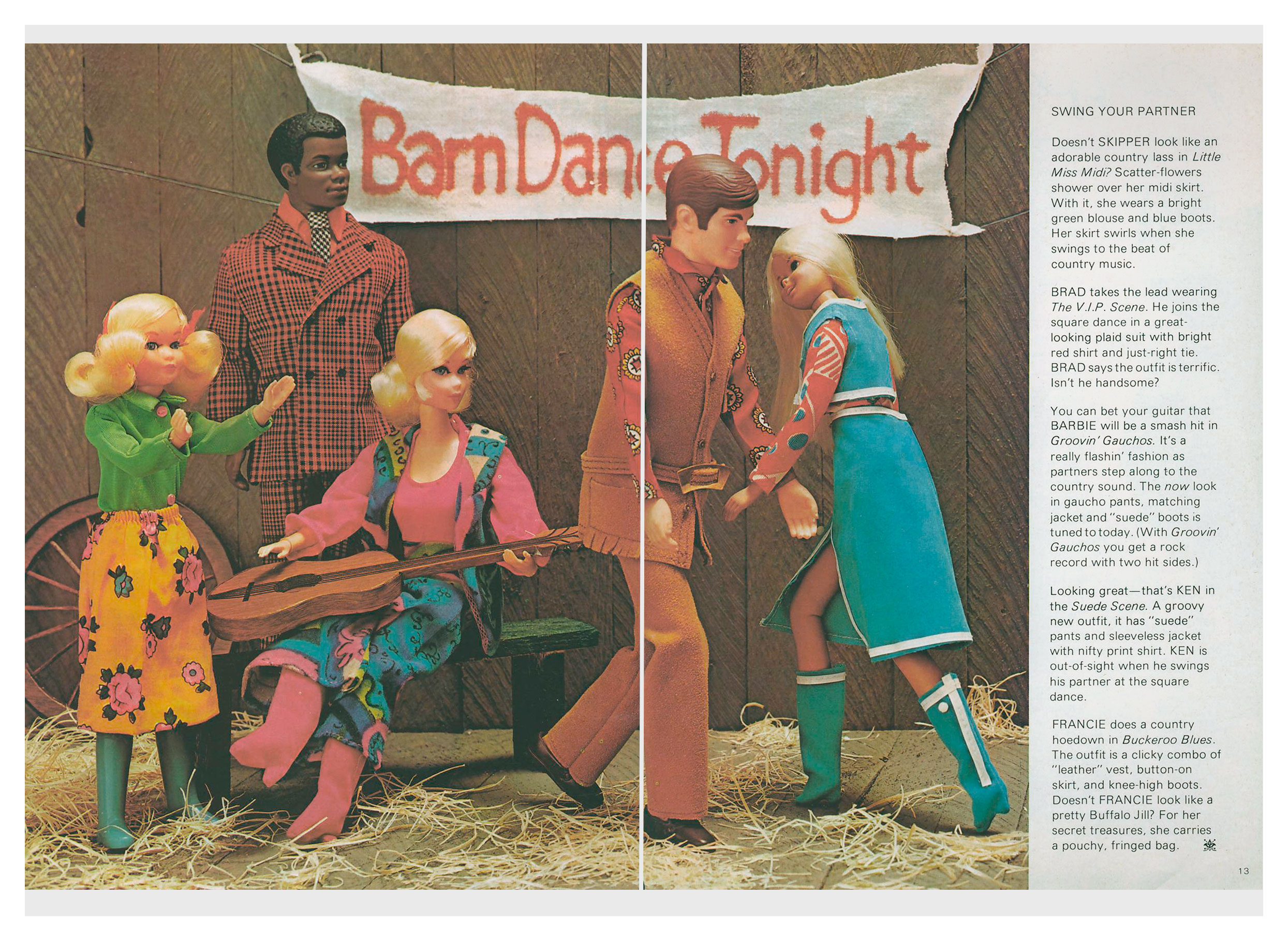 From 1971 Halloween Barbie Talk magazine