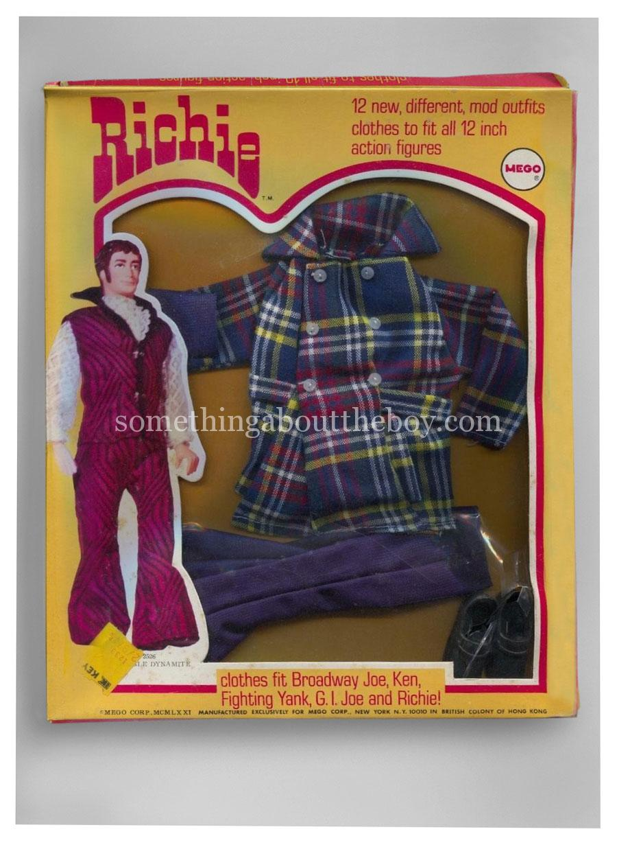 1971 Glad Plaid for Richie by Mego