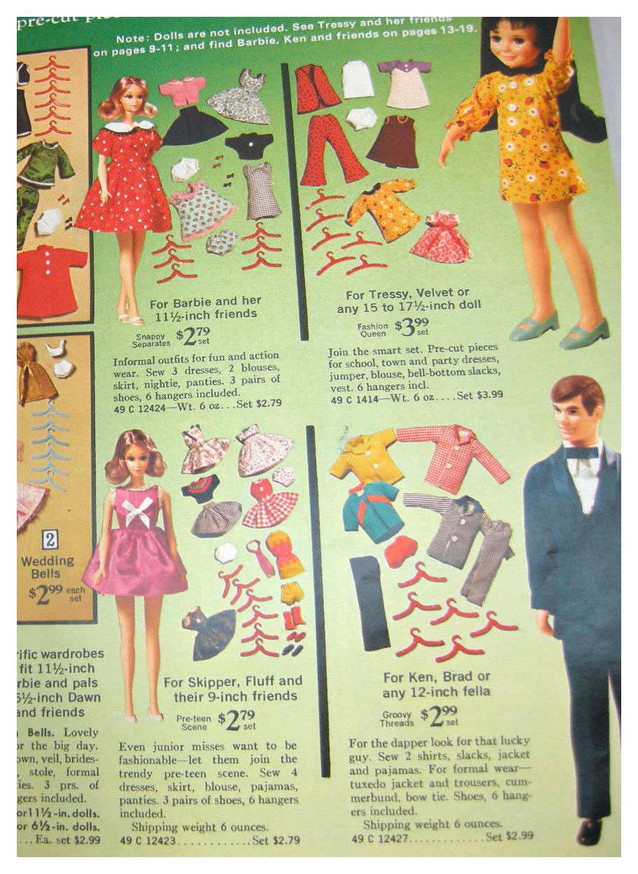 From 1971 Sears Toys catalogue