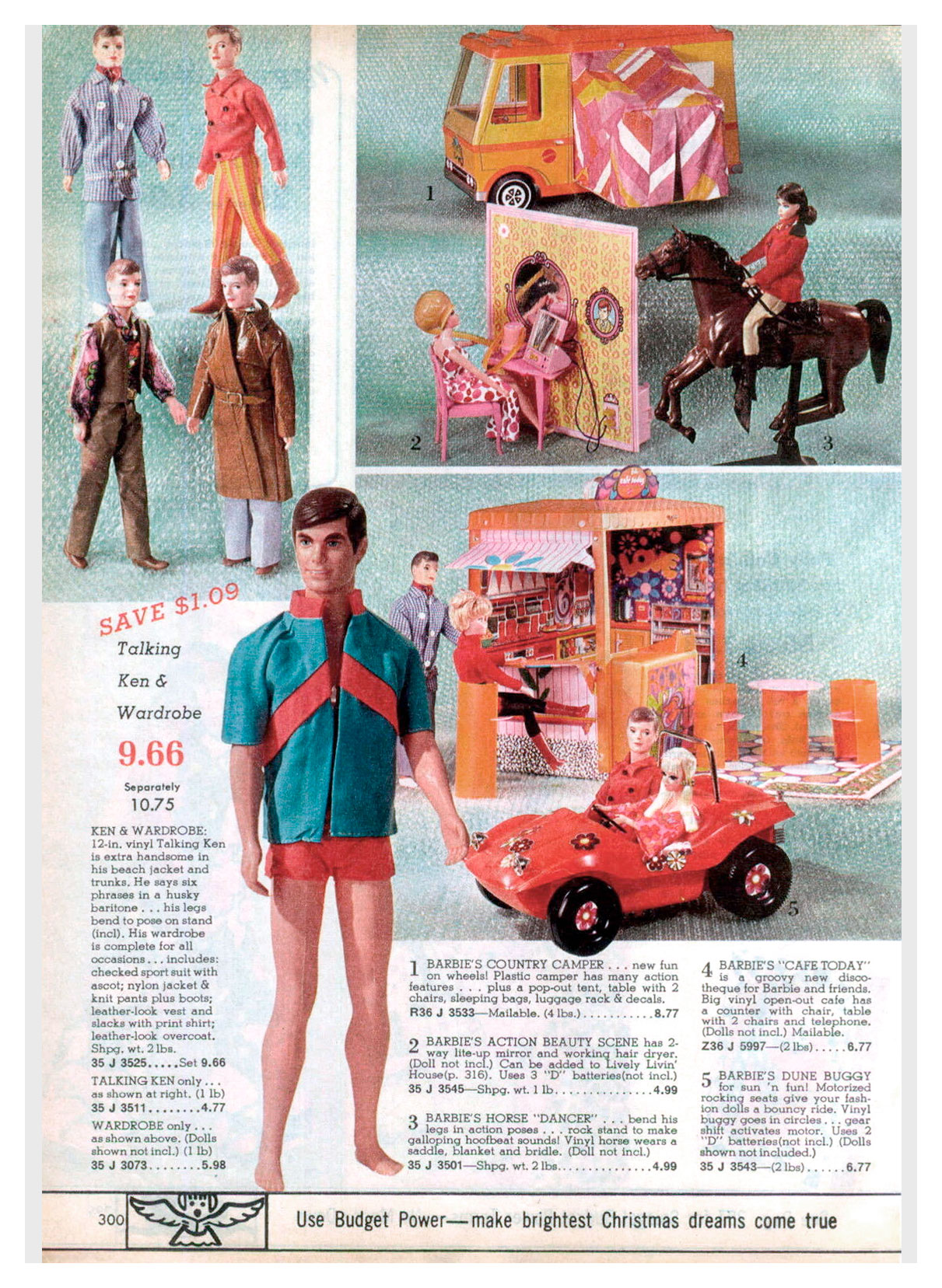 From 1971 Spiegel Christmas catalogue