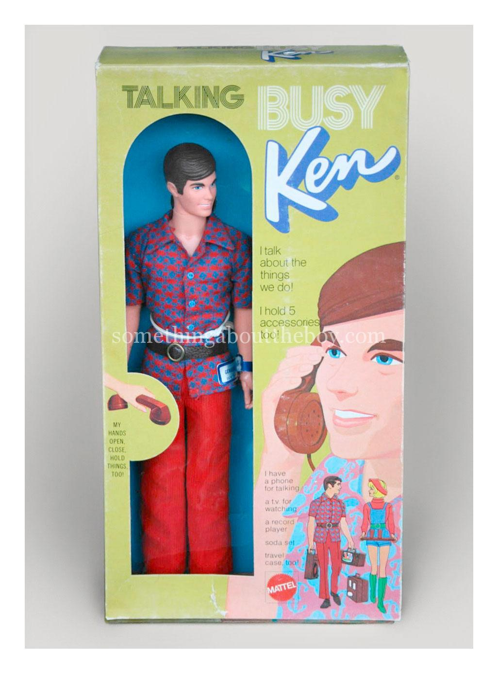 1972 #1196 Busy Talking Ken Canadian packaging
