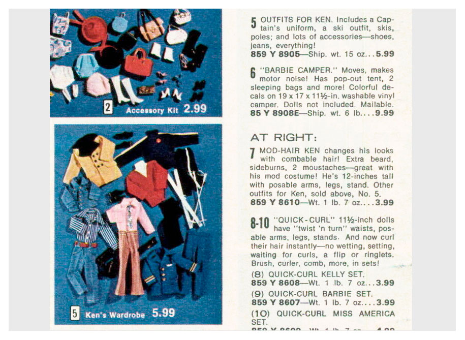 From 1973 Aldens Christmas catalogue