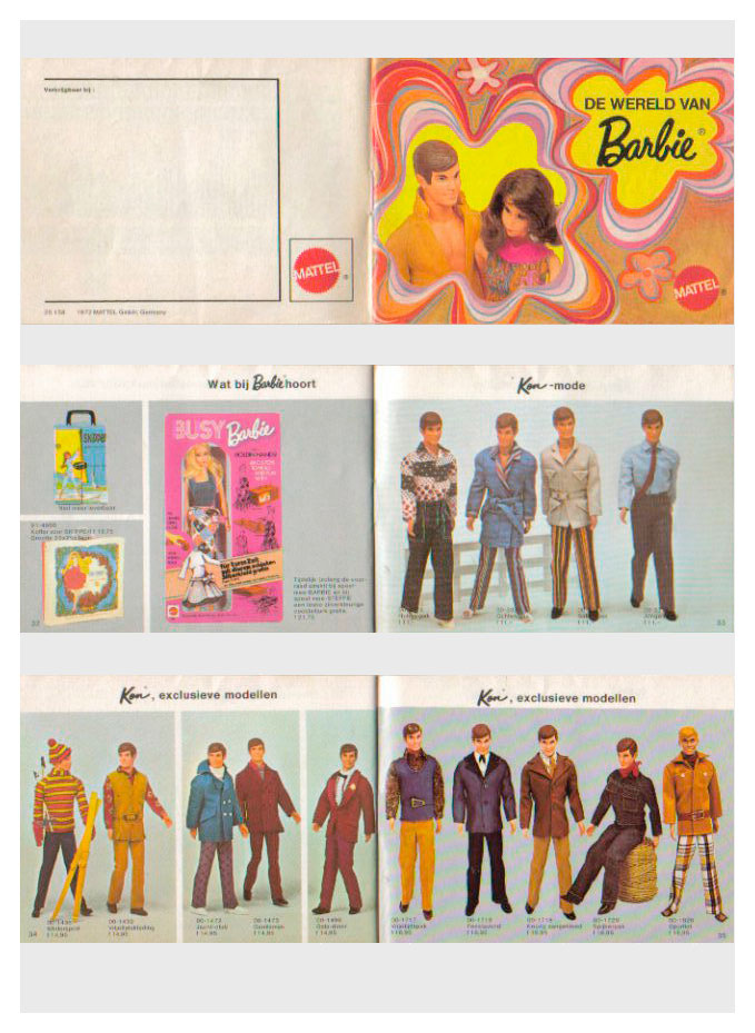 From 1972 Dutch Barbie booklet