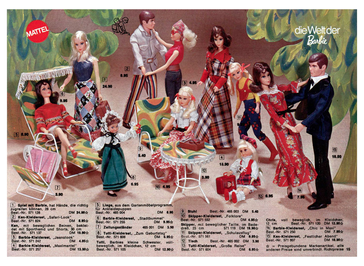 From 1972 German Vedes catalogue